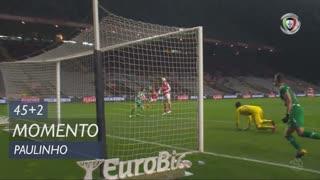 SC Braga, Jogada, Paulinho aos 45'+2'