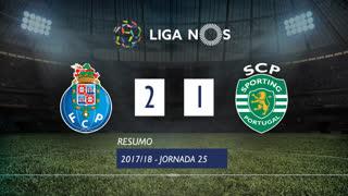 Liga NOS (25ªJ): Resumo FC Porto 2-1 Sporting CP