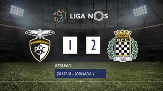 Liga NOS (1ªJ): Resumo Portimonense 2-1 Boavista FC