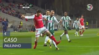 SC Braga, Caso, Paulinho aos 4'
