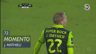 Sporting CP, Jogada, J. Mathieu aos 72'