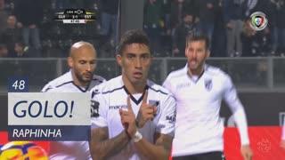 GOLO! Vitória SC, Raphinha aos 48', Vitória SC 2-1 Estoril Praia