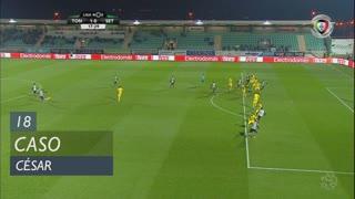 Vitória FC, Caso, César aos 18'