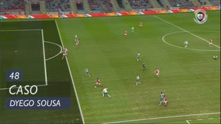 SC Braga, Caso, Dyego Sousa aos 48'