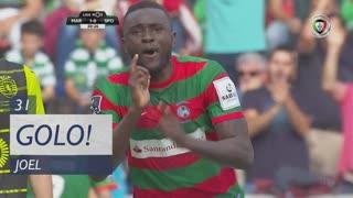 GOLO! Marítimo M., Joel aos 31', Marítimo M. 1-0 Sporting CP
