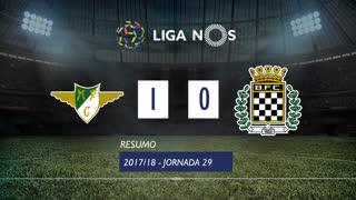 Liga NOS (29ªJ): Resumo Moreirense FC 1-0 Boavista FC