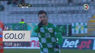 GOLO! Moreirense FC, Tozé aos 26', Moreirense FC 1-0 Marítimo M.