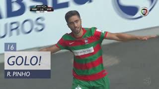 GOLO! Marítimo M., Rodrigo Pinho aos 16', Marítimo M. 1-0 CD Aves