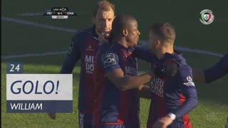 GOLO! GD Chaves, William aos 24', CD Feirense 1-0 GD Chaves