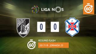 Liga NOS (25ªJ): Resumo Flash Vitória SC 0-0 Os Belenenses