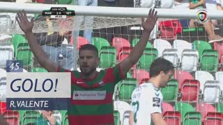 GOLO! Marítimo M., Ricardo Valente aos 45', Marítimo M. 3-0 Vitória FC