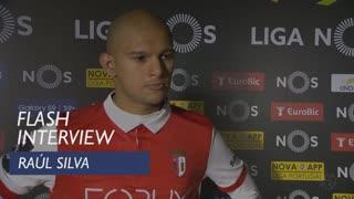 Liga (28ª): Flash interview Raúl Silva