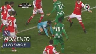 Moreirense FC, Jogada, H. Belkaroui aos 78'