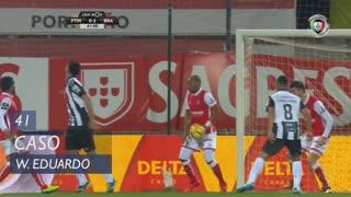 SC Braga, Caso, Wilson Eduardo aos 41'