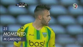 CD Tondela, Jogada, Miguel Cardoso aos 25'