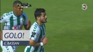 GOLO! Vitória FC, E. Bassan aos 86', Estoril Praia 2-1 Vitória FC