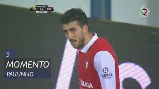 SC Braga, Jogada, Paulinho aos 5'
