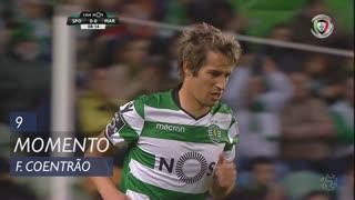 Sporting CP, Jogada, Fábio Coentrão aos 9'