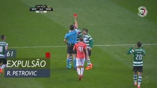 Sporting CP, Expulsão, R. Petrovic aos 61'