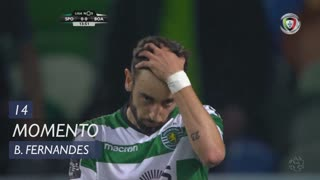 Sporting CP, Jogada, Bruno Fernandes aos 14'