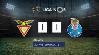 Liga NOS (12ªJ): Resumo CD Aves 1-1 FC Porto