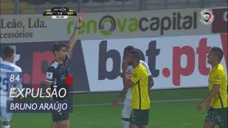 FC P.Ferreira, Expulsão, Bruno Santos aos 84'