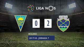 Liga NOS (7ªJ): Resumo Estoril Praia 0-2 GD Chaves