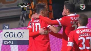 GOLO! SL Benfica, Jonas aos 78', CD Tondela 1-5 SL Benfica