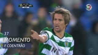 Sporting CP, Jogada, Fábio Coentrão aos 37'