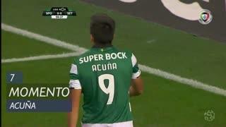 Sporting CP, Jogada, M. Acuña aos 7'