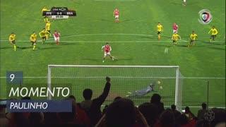SC Braga, Jogada, Paulinho aos 9'