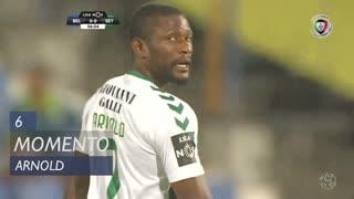 Vitória FC, Jogada, Arnold aos 6'