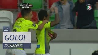 GOLO! Marítimo M., Zainadine aos 55', Marítimo M. 1-0 SC Braga