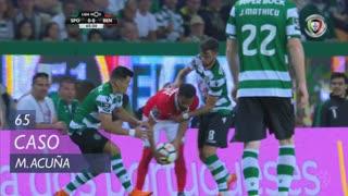 Sporting CP, Caso, M. Acuña aos 65'