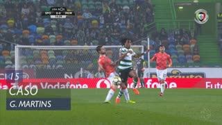 Sporting CP, Caso, Gelson Martins aos 15'