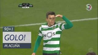GOLO! Sporting CP, M. Acuña aos 90'+1', Sporting CP 5-0 Marítimo M.