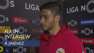 Liga (29ª): Flash interview R. Jiménez