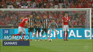 SL Benfica, Jogada, Samaris aos 38'