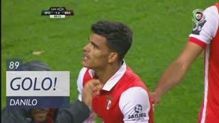 GOLO! SC Braga, Danilo aos 89', Sporting CP 1-2 SC Braga