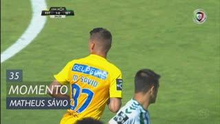 Estoril Praia, Jogada, Matheus Sávio aos 35'