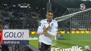 GOLO! Vitória SC, Raphinha aos 31', Vitória SC 2-1 FC P.Ferreira