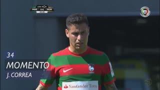 Marítimo M., Jogada, J. Correa aos 34'