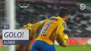 GOLO! Estoril Praia, Kléber aos 81', Vitória FC 2-1 Estoril Praia