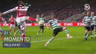 SC Braga, Jogada, Paulinho aos 51'