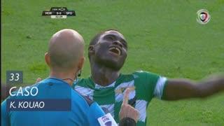 Moreirense FC, Caso, K. Kouao aos 33'