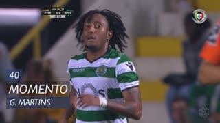 Sporting CP, Jogada, Gelson Martins aos 40'