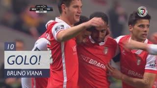 GOLO! SC Braga, Bruno Viana aos 10', SC Braga 1-0 CD Feirense