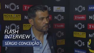 Liga (33ª): Flash interview Sérgio Conceição