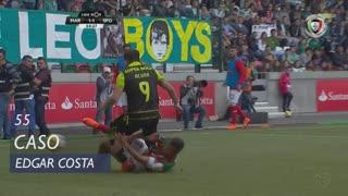Marítimo M., Caso, Edgar Costa aos 55'