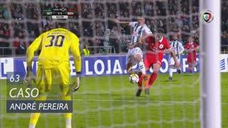 Vitória FC, Caso, André Pereira aos 63'
